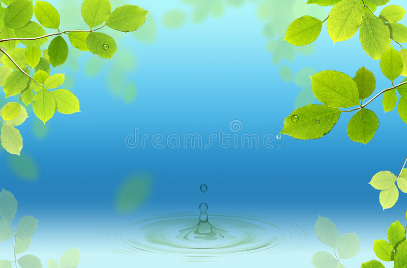 Download The Fountain of Life stock illustration. Image of purity - 26928424