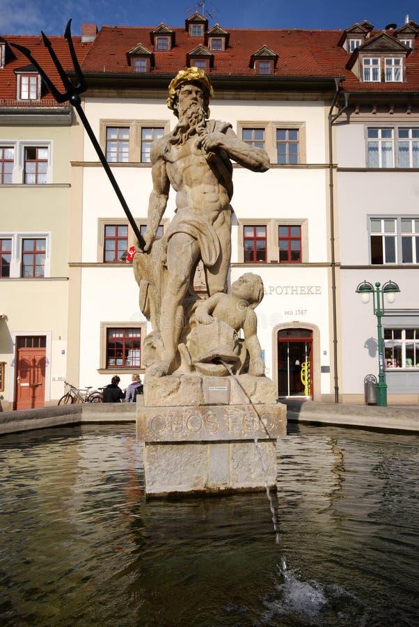 Download Fountain Of Neptune (Weimar) Stock Image - Image: 21739727
