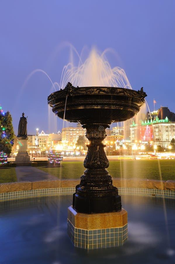 Download Fountain Night Scene Stock Image - Image: 13981961
