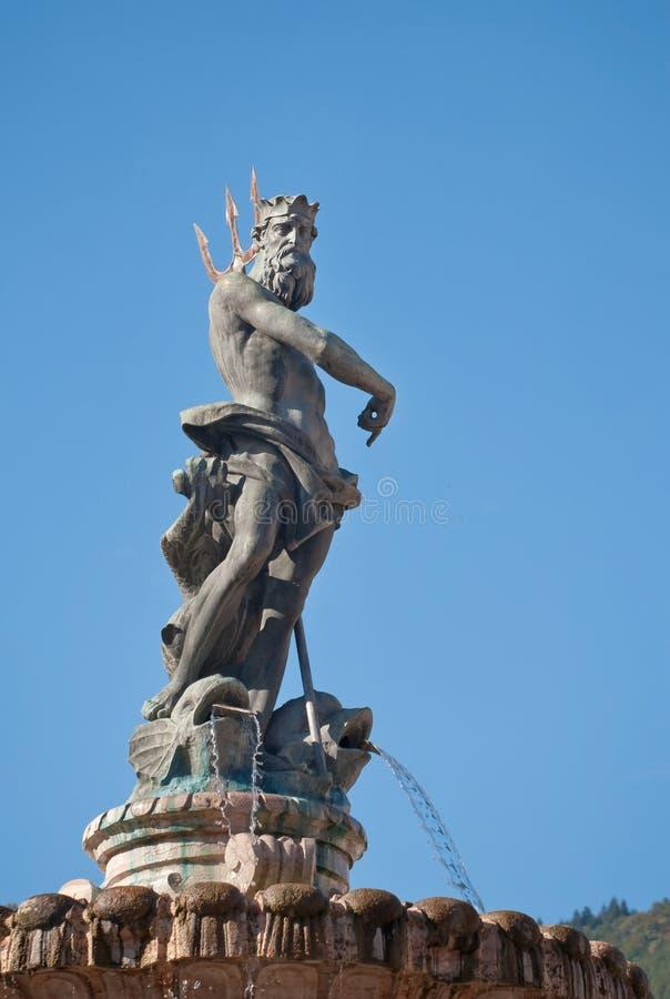 Free Fountain Of Neptune In Trento Royalty Free Stock Photo - 12640405