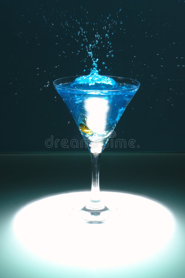 Free Fountain On The Glass Stock Images - 1735954