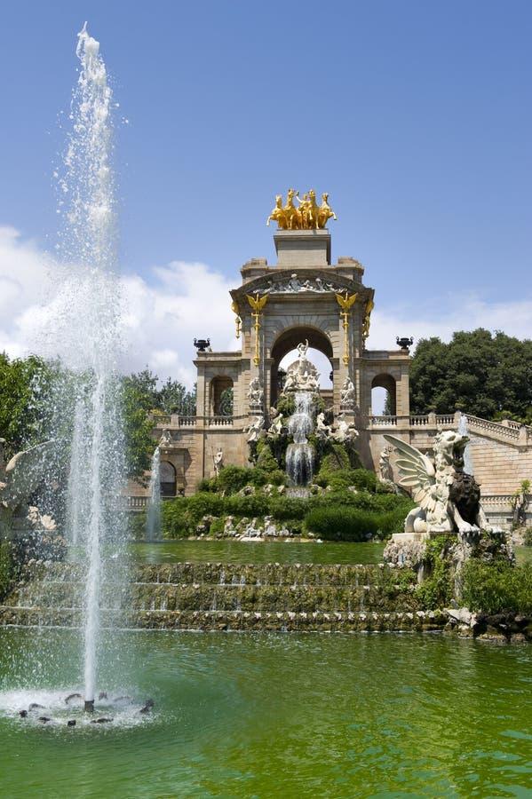 Download Fountain Parc De La Ciutadella Stock Image - Image: 25636303