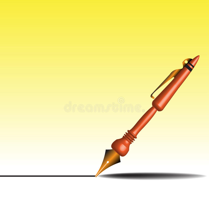 Download Fountain Pen Royalty Free Stock Photography - Image: 10933517