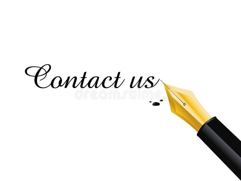 Download Fountain pen stock vector. Illustration of partnership - 12928274