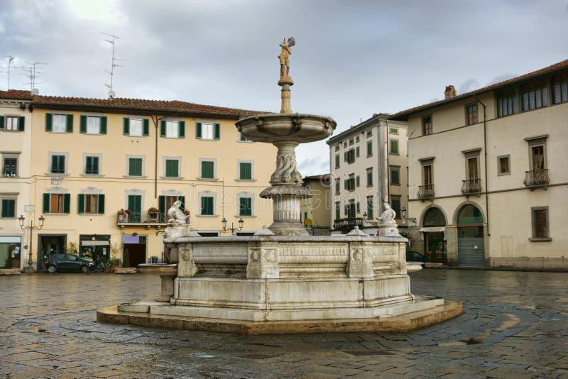 Fountain In Prato stock photos