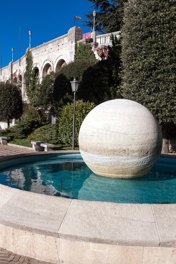 Download Fountain In Republic Of San Marino Royalty Free Stock Photos - Image: 27947168