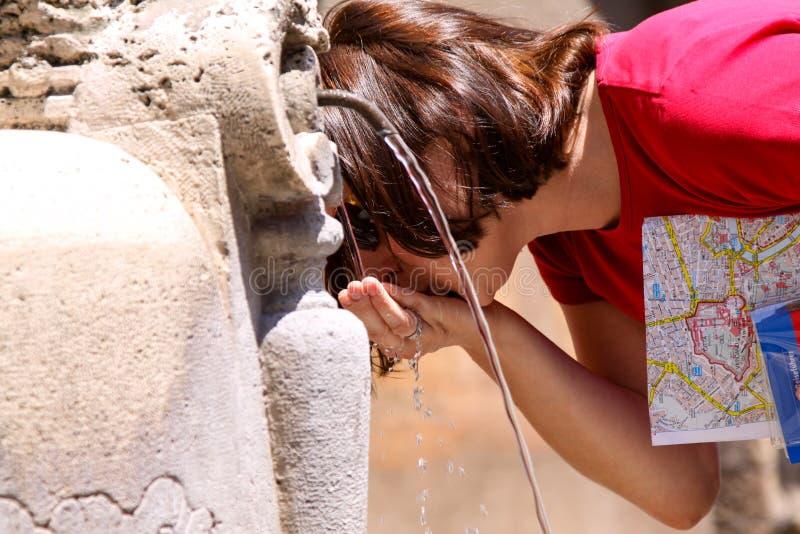 Fountain Rome royalty free stock photography