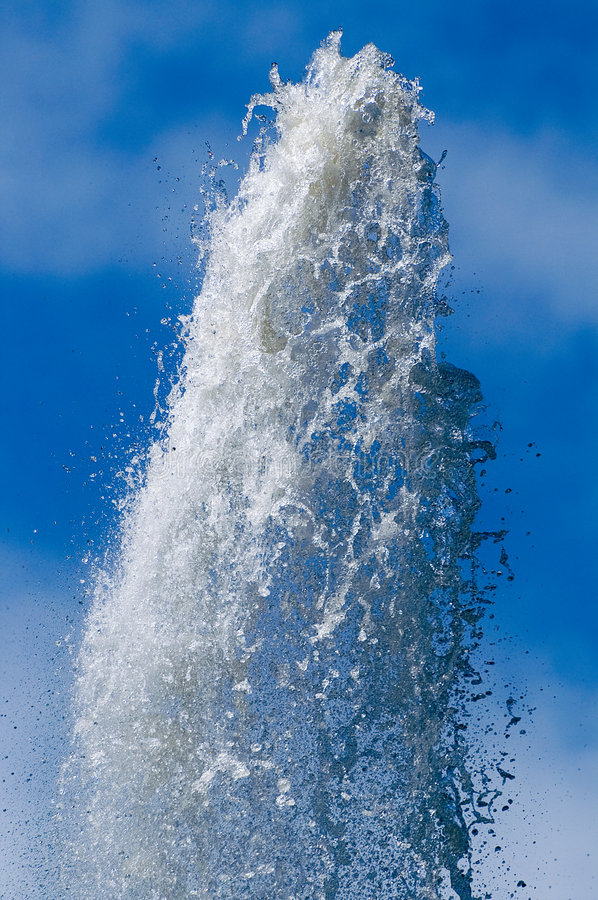 Download Fountain and sky stock image. Image of drop, water, spray - 3027213