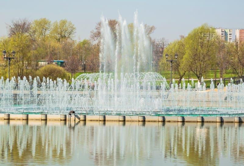 Park Tsaritsyno in Moscow stock photo