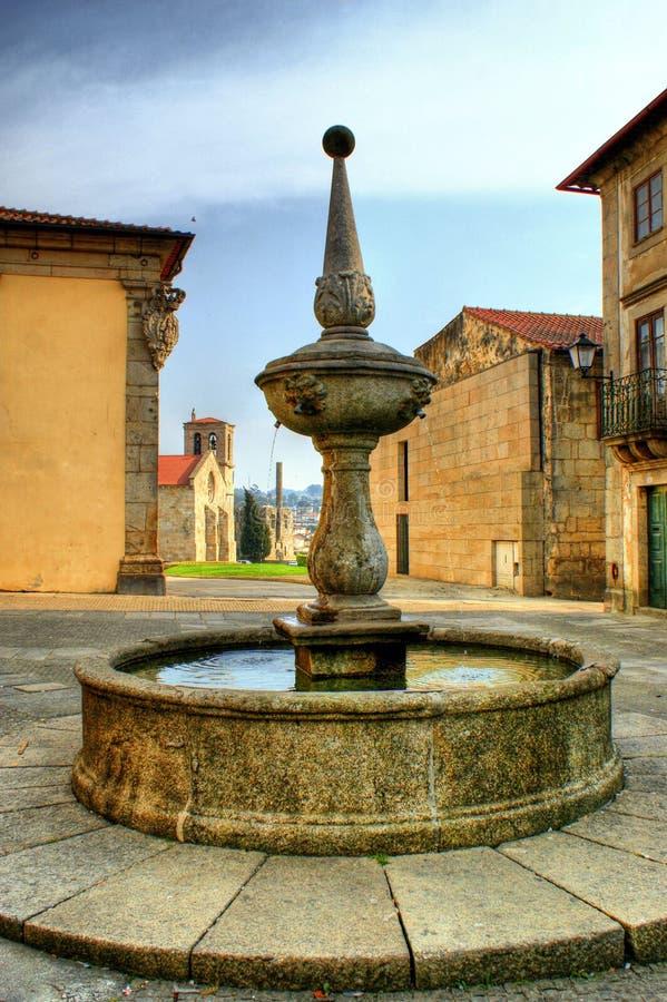Download Fountain square stock image. Image of statue, landmark - 58758581