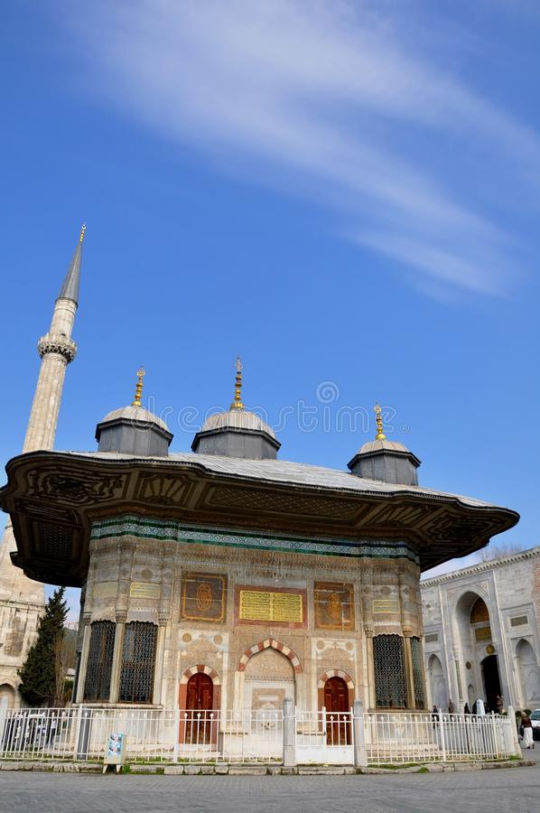 Download Fountain Of Sultan Ahmed II Stock Photo - Image of design, historic: 39513472