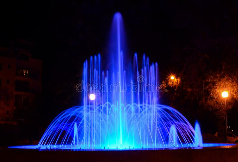 Fountain in the town of Nessebar. Nessebar is a city located in southeastern Bulgaria. It is located in Nessebar municipality, Bourgas district, next to the stock images