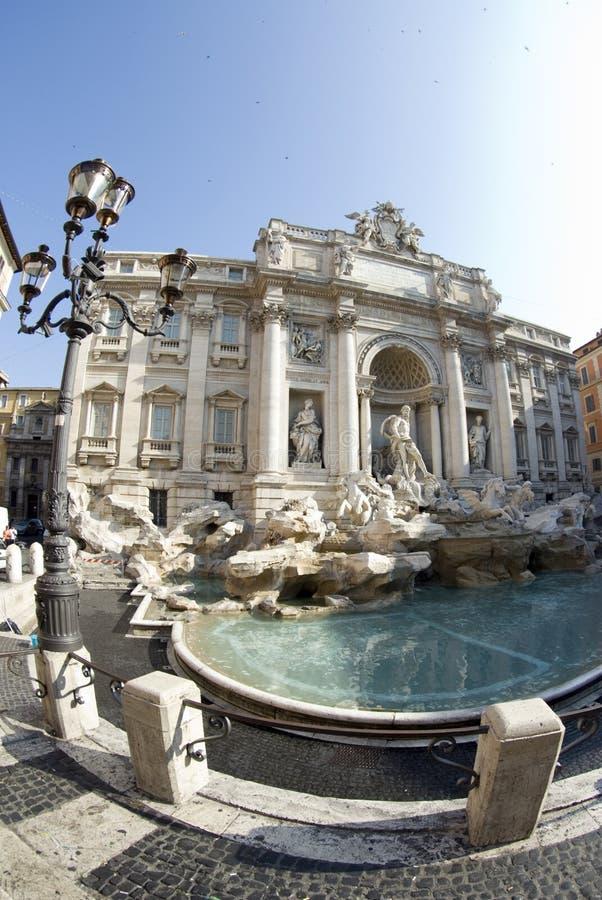 Fountain of trevi rome italy