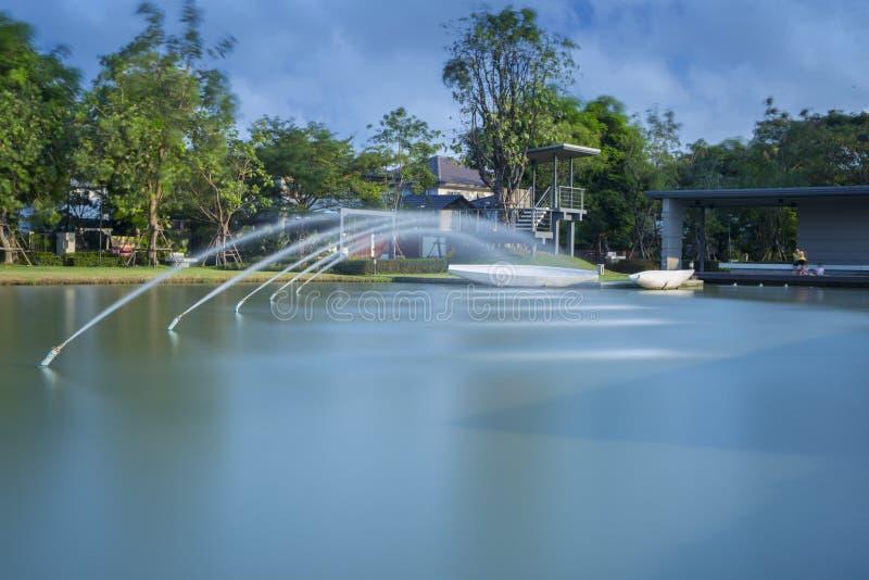 The fountain stock photo