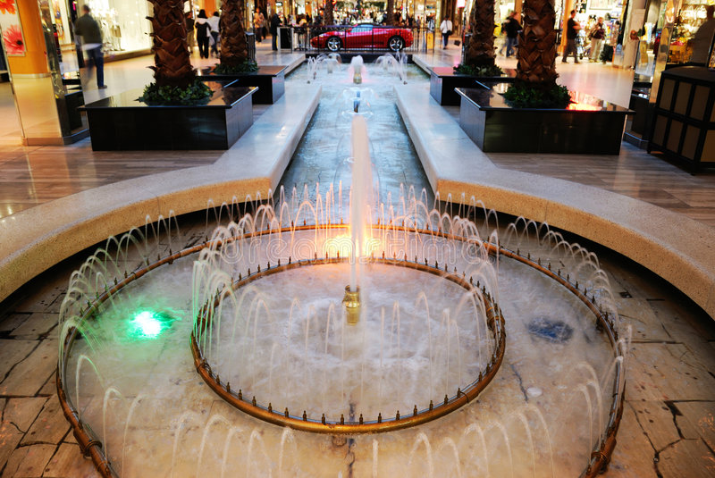 Download Fountain In West Edmonton Mall Stock Photo - Image: 4839022