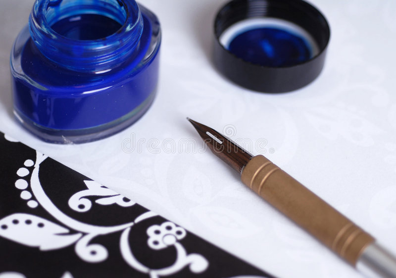 Download Fountain Writing Pen Stock Photos - Image: 3231753