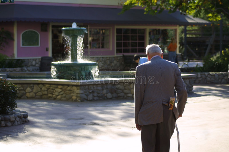 Fountain of youth royalty free stock image