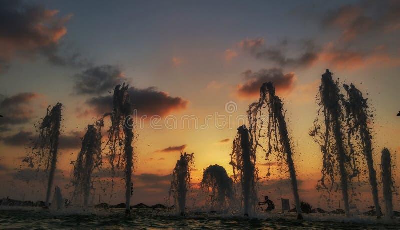 Fountainrise стоковое изображение