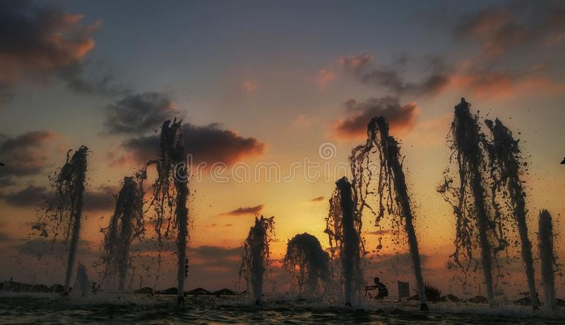 Fountainrise. stock image