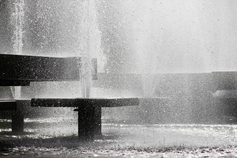 Fountains Stock Image