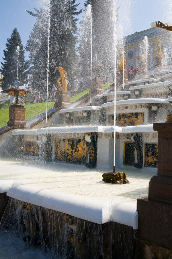 Download Fountains of Petergof stock photo. Image of history, antique - 11429802