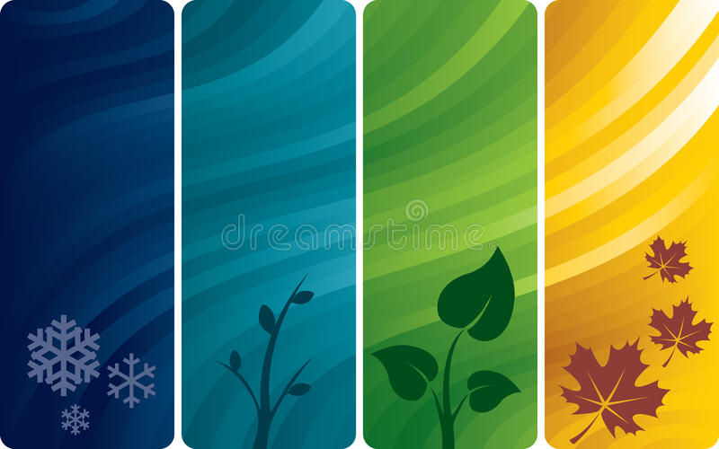 Four abstract backgrounds stock photos