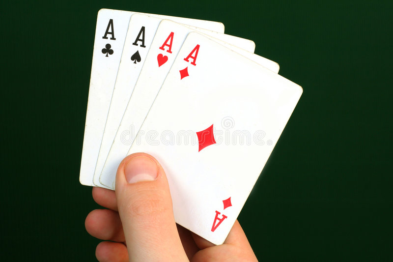 Four Ace Royalty Free Stock Image