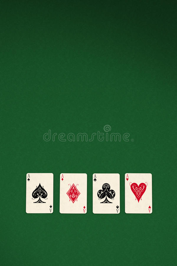 Download Four aces stock illustration. Image of background, luck - 19006613