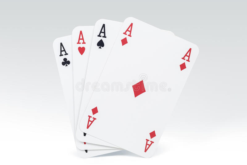 Download Four Aces stock photo. Image of casino, hearts, cards - 33130386