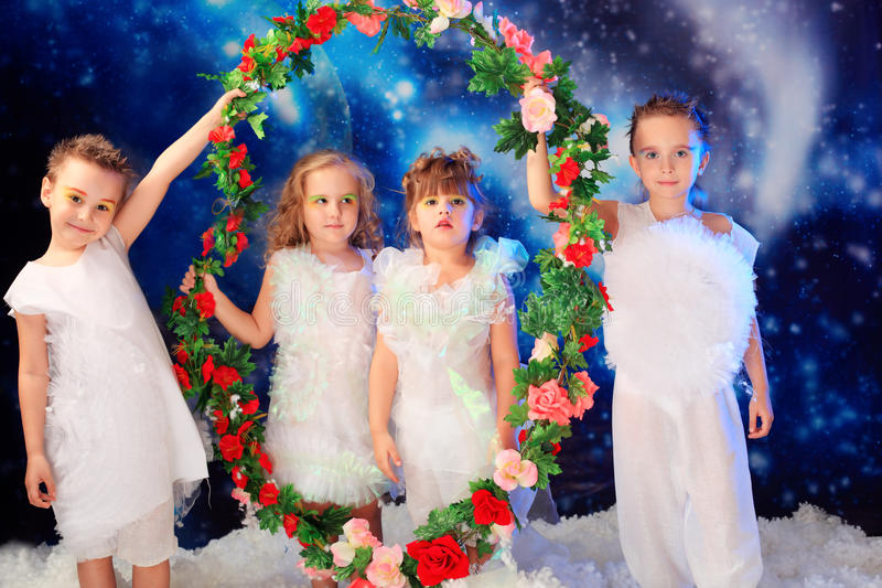 Four angels