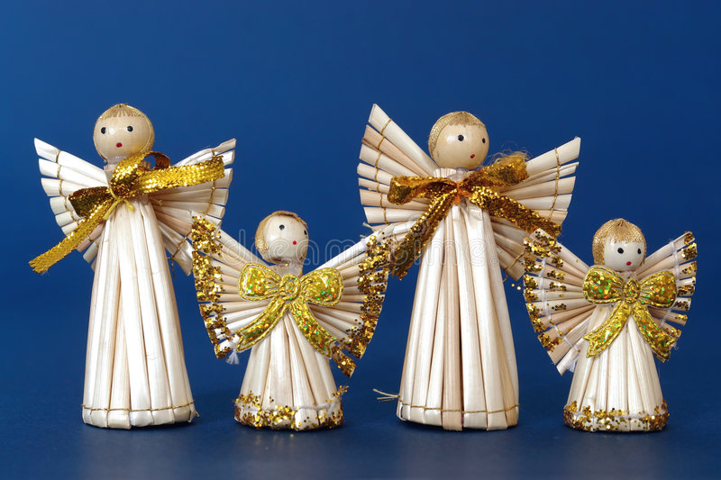 Download Four Angels stock image. Image of object, christmas, angel - 6982755