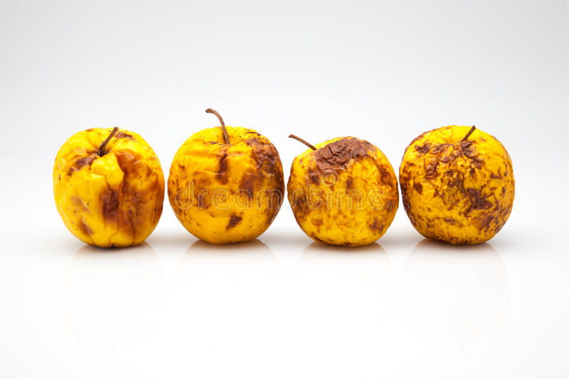 Four Apples Stock Photography