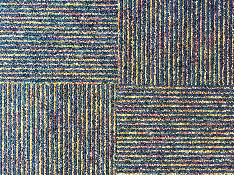 A four block textile background stock image