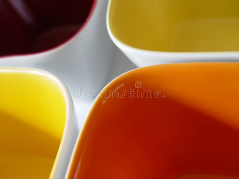 Download Four  bowls stock image. Image of decoration, dishes, food - 10743