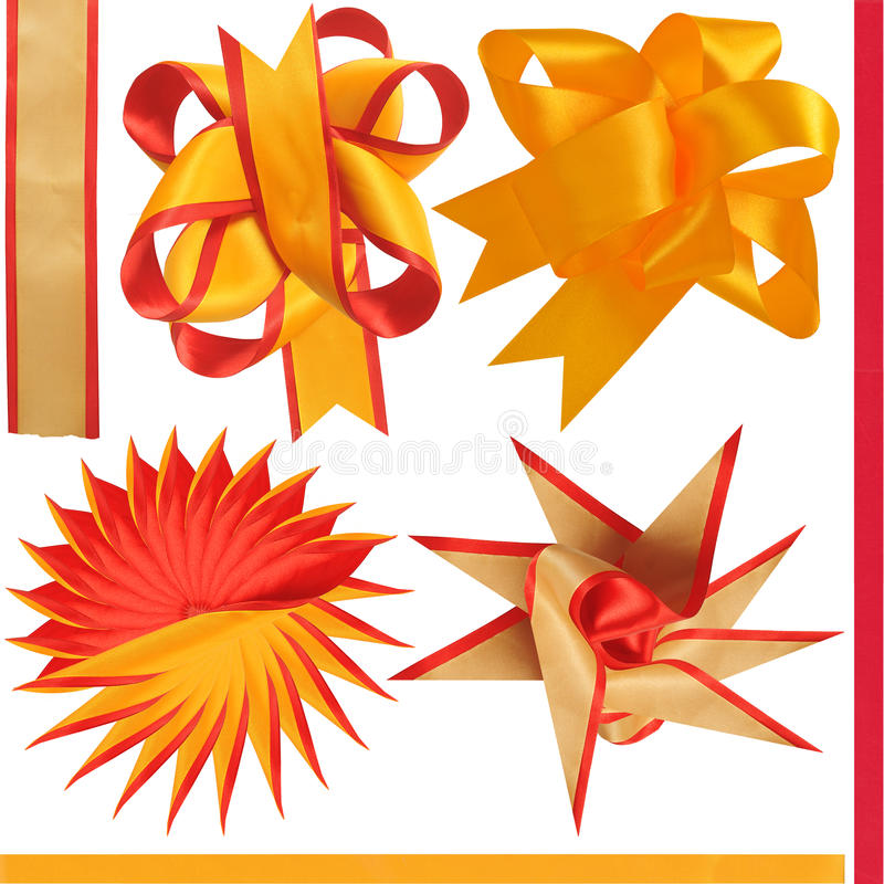 Download Four bows. stock photo. Image of celebration, decorative - 12009588