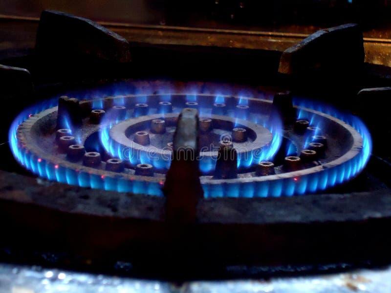 Four de gaz naturel photos stock