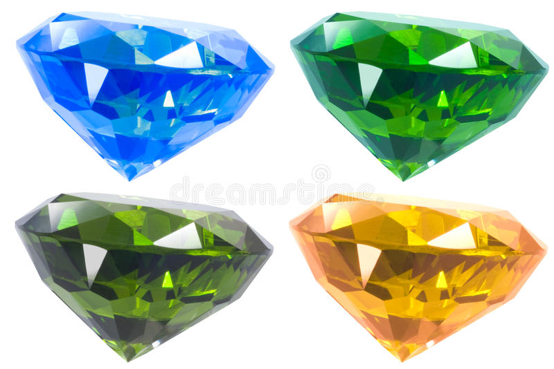Four diamond stock images