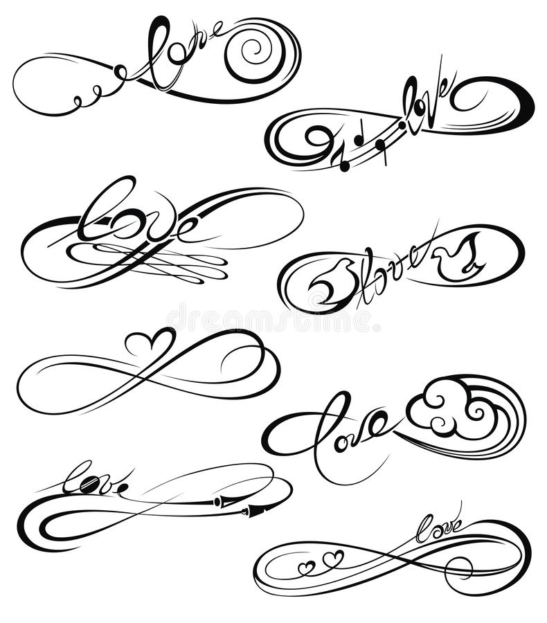 Infinity Love, Forever Symbol Stock Vector - Illustration ...