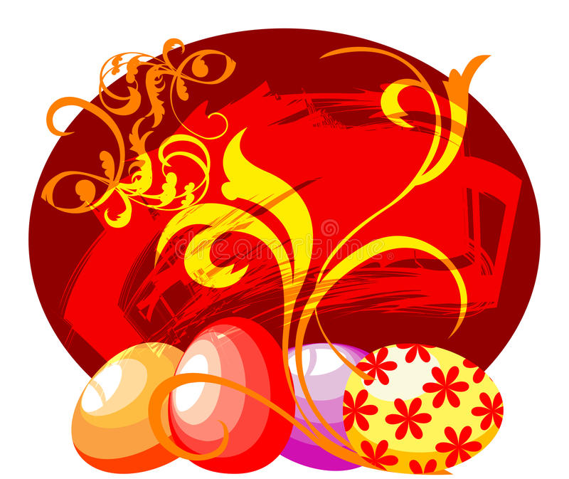 Download Four Easter Eggs Royalty Free Stock Photo - Image: 18493565
