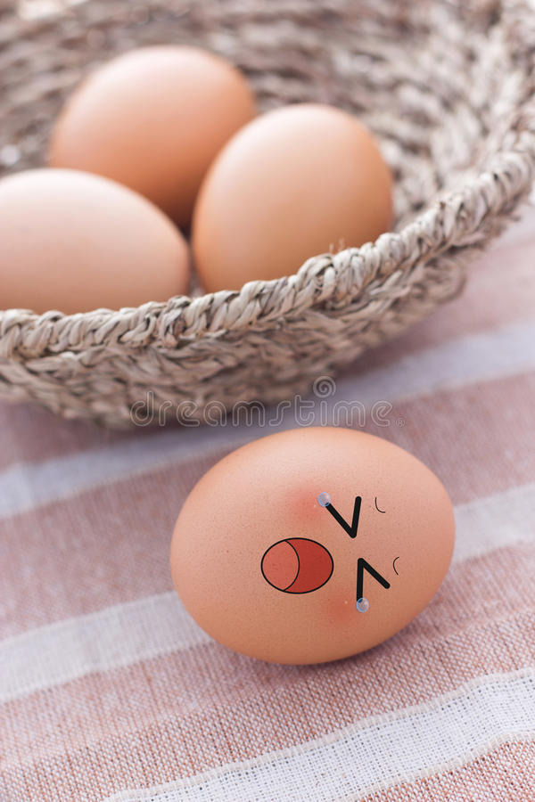 Free Four Eggs In Basket Royalty Free Stock Photo - 30767845