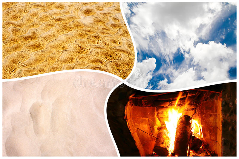 Four Elements Stock Image