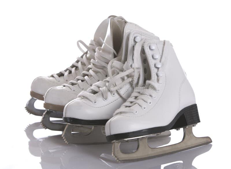 Four Figure Skates stock photos