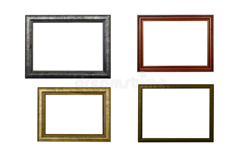 Four frames stock photo. Image of exhibition, blank, object - 24807842