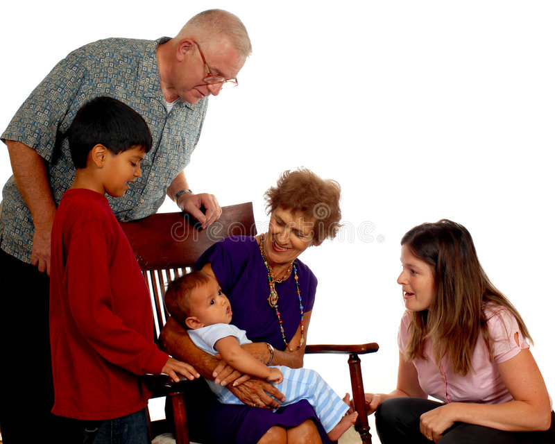 Download Four Generations Stock Image - Image: 3149761