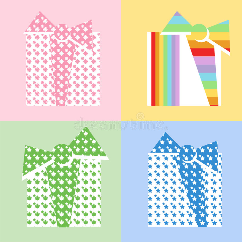 Free Four Gifts Stock Images - 8475064