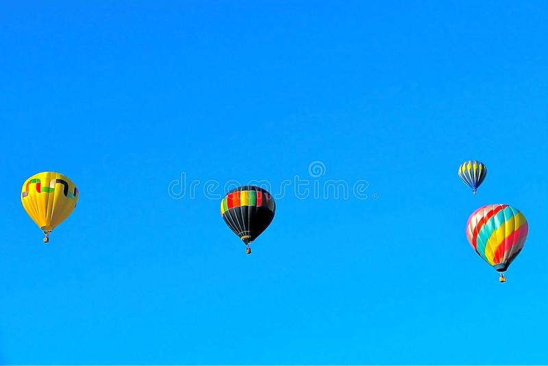 Racing to the Sky 3 stock photography