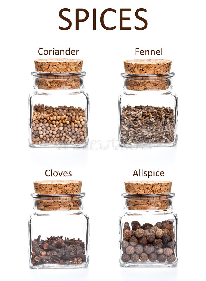 Download Jars of spices stock image. Image of tasty, seasoning - 29779175