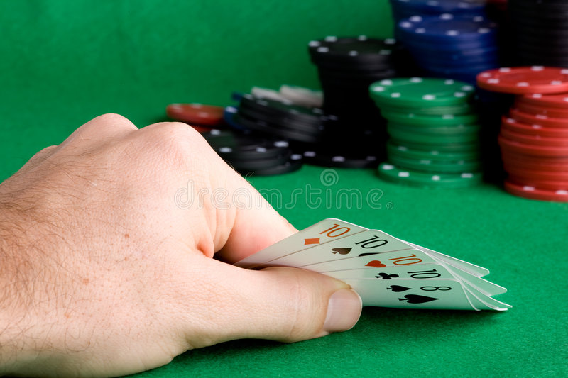 Download Four of a Kind stock image. Image of gamble, kind, quad - 6984739