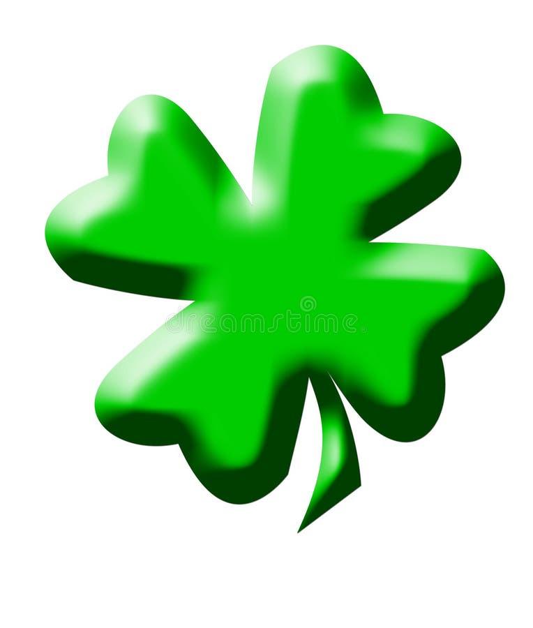 Download Four leaf clover stock illustration. Image of luck, nature - 10433530