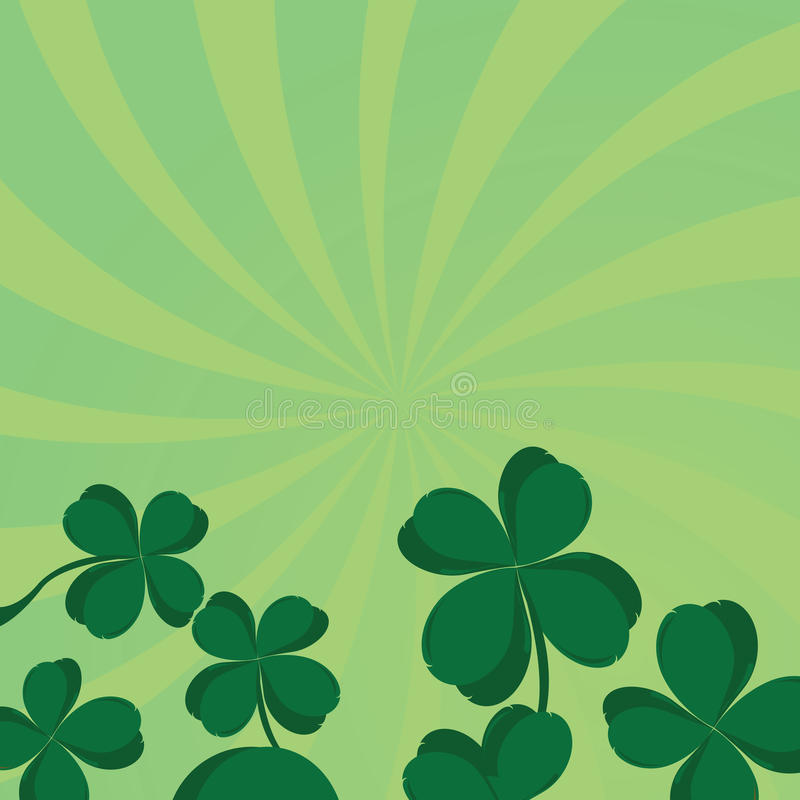 Download Four leaf clover stock vector. Image of bunch, culture - 12581592